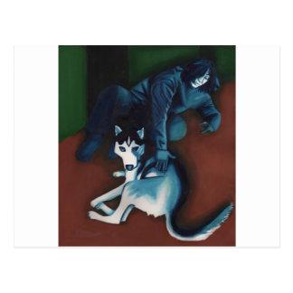 Husky Post Card