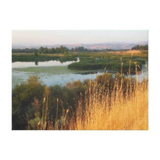 Hyatt Hidden Lakes Nature Reserve Canvas Print