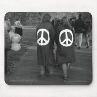 Hyde Park Anti-Nuclear Demonstration Mouse Pad