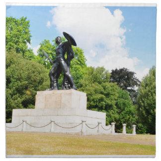 Hyde park in London Napkin