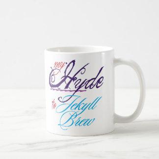 Hyde to Jekyll Classic White Mug