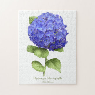 Hydrangea Blue Heaven Puzzle