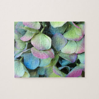 HYDRANGEA  Multi-color petals --- Jigsaw Puzzle
