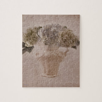 Hydrangeas In A Vase Jigsaw Puzzle