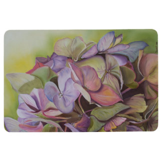 Hydrangeas - Mid-summers Beauty Floor Mat