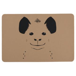 hyena floor mat
