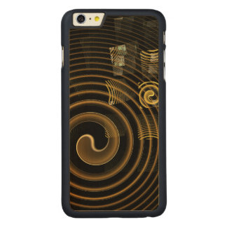 Hypnosis Abstract Art Carved® Maple iPhone 6 Plus Case