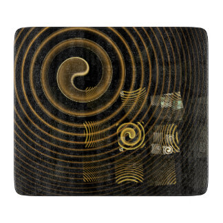 Hypnosis Abstract Art Rectangle Cutting Board