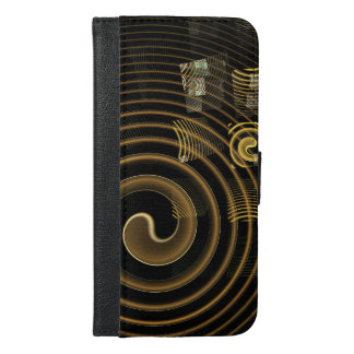 Hypnosis Abstract Art Wallet Case