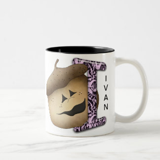 I Acorn Two-Tone Coffee Mug