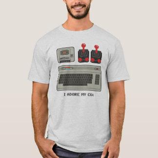 I adore my C64! 8bit T-Shirt Commodore 64