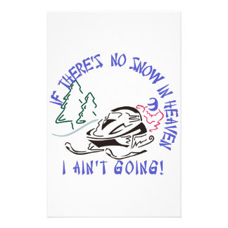 I Aint Going! Personalised Stationery