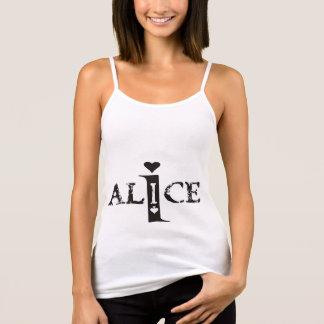 """I Alice"" t-shirt red-heart back"