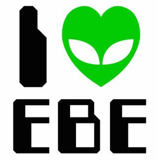 I Alien Heart EBE Standing Photo Sculpture