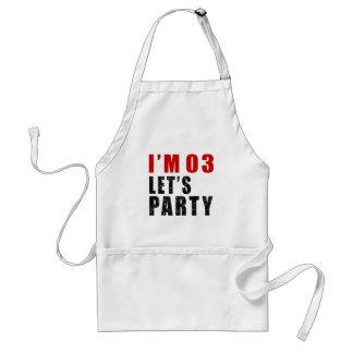 I Am 03 Let's Party Standard Apron