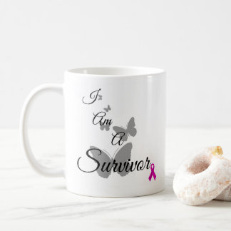 I Am a breast cancer Survivor mug
