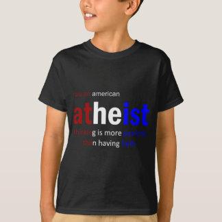 I am an american atheist T-Shirt
