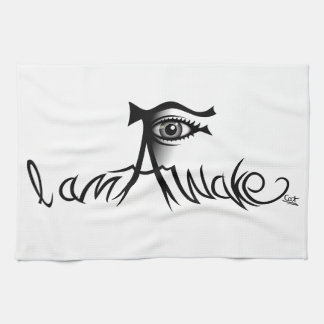 I Am Awake Kitchen Towel