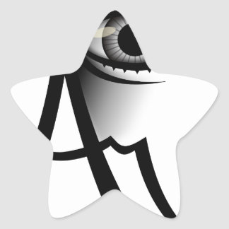 I Am Awake Star Sticker