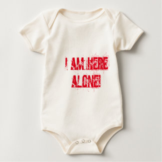 I am here alone Baby clothes Baby Bodysuit