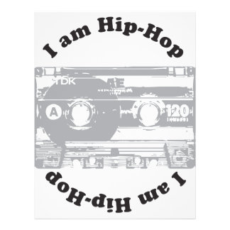 I Am Hip-Hop 21.5 Cm X 28 Cm Flyer