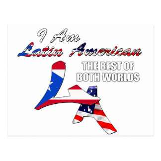 I Am Latin American Postcard