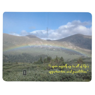 """""""I am Open to Possibilities"""" Blank Pocket Journal"""