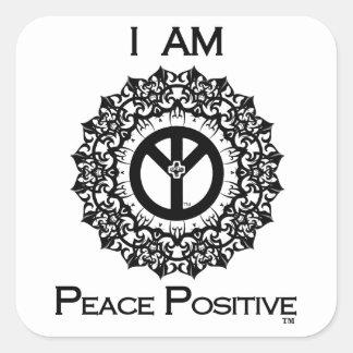 I AM PEACE POSITIVE Sticker