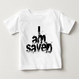 I AM Saved Christian Baby T-Shirt