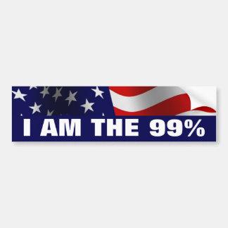 I am The 99 Percent Bumper Sticker