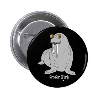 I am the Walrus 6 Cm Round Badge