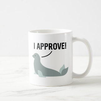 I Approve Coffee Mug