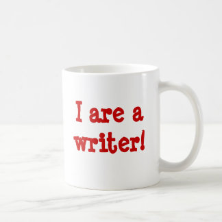 I are a writer! mugs