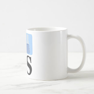 I Beaker LS Basic White Mug