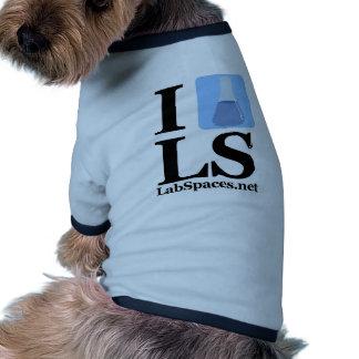 I beaker LS w/ Domain Dog Clothes