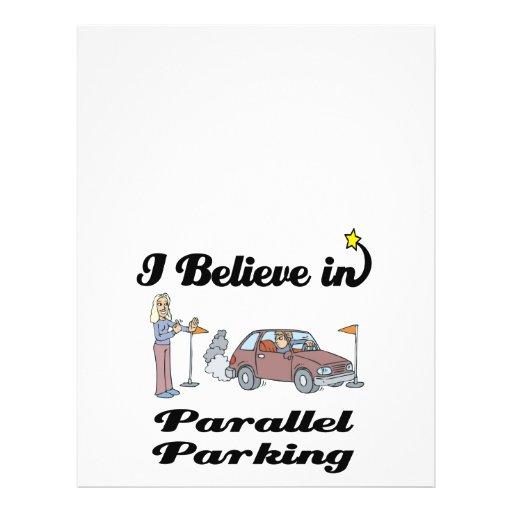 i believe in parallel parking II Full Color Flyer