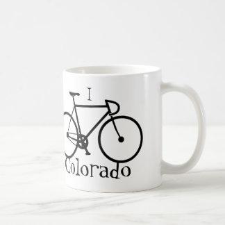 I bike Colorado Coffee Mug