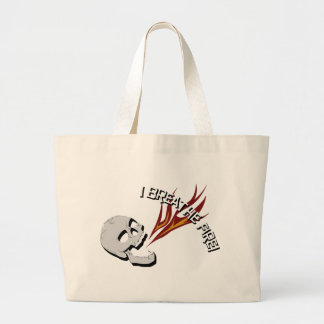 I Breathe Fire! Tote Bags