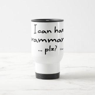 I Can Haz Grammar? Travel Mug