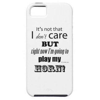 I Care Horn iPhone 5 Cover