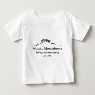 I Climbed Mount Monadnock Baby T-Shirt