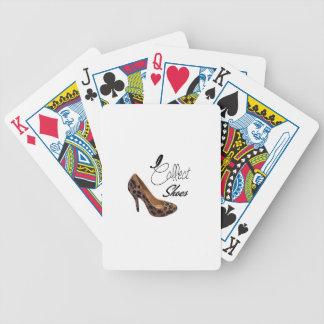 I Collect Shoes High Heels Pumps Poker Deck