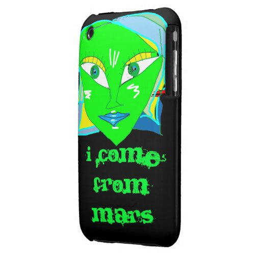 I come from Mars Case-Mate iPhone 3 Case