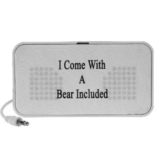 I Come With A Bear Included Speakers