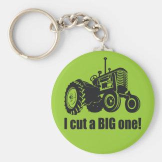 I Cut A Big One - Pride! Key Ring