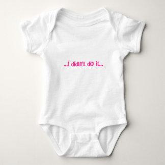 ...I didn't do it... Baby Bodysuit
