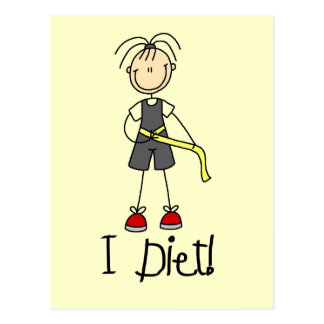 I Diet Tshirts and Gifts Postcard