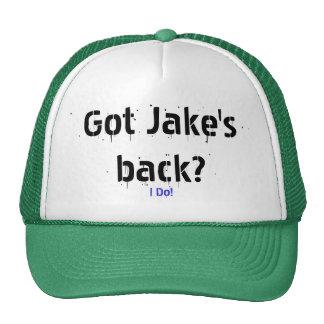 I Do!, Got Jake's back? Cap
