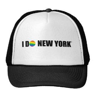 I DO NY MESH HATS
