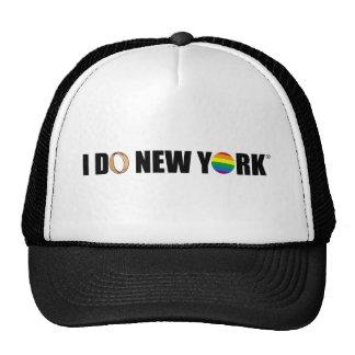 I DO NY ring Mesh Hats